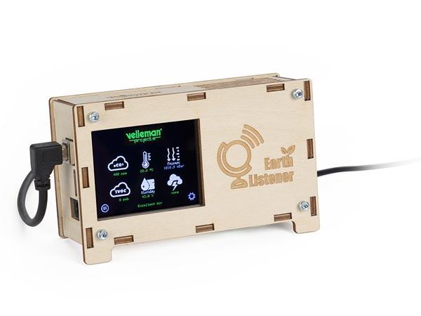 アースリスナー(室内環境センサー/eCO2、TVOC、気圧、温度、湿度、雷)VMA211