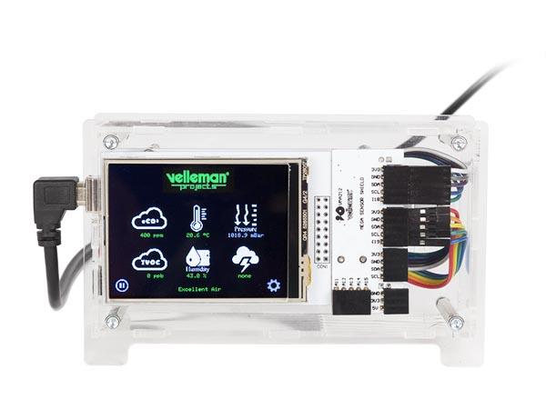アースリスナー(室内環境センサー/eCO2、TVOC、気圧、温度、湿度、雷)VM211SEスペシャルエディション