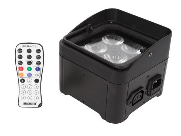 LEDフロアスポットライト 4x4W-RGB/UV-HQLP10032