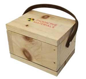 鉛ライン木箱(内寸139x101x88mm)