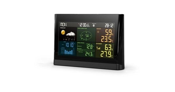 5in1警告アラート付プロ用ワイヤレス天候計測器 XC-0434
