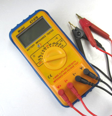 電池インピーダンステスター
