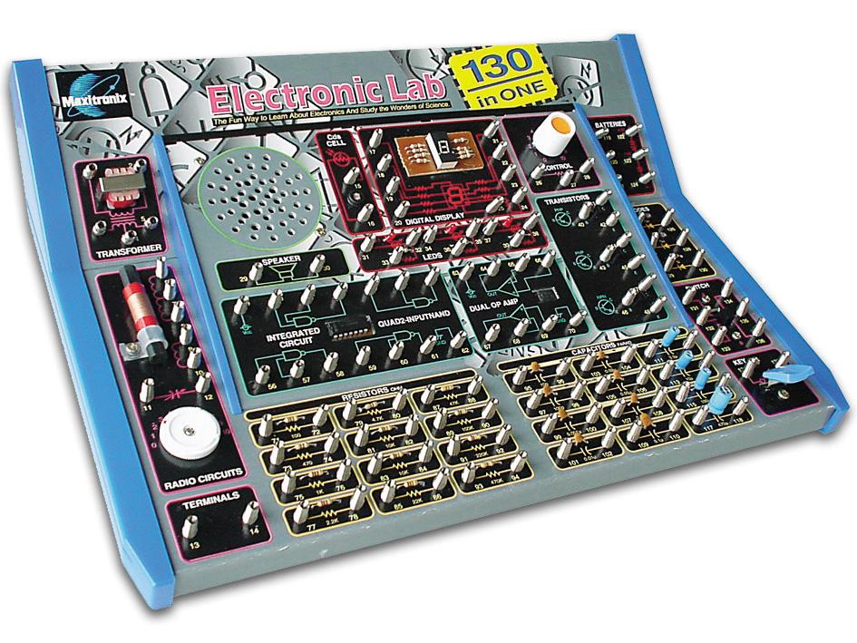 電気研究キットエレクトロニクス実験キット130EL1301