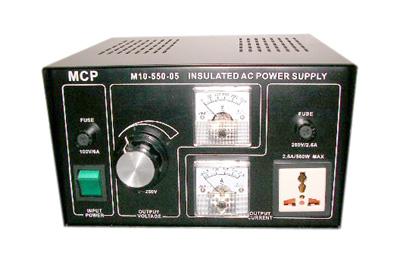 可変式AC/AC電源500VA(M10-550-05)