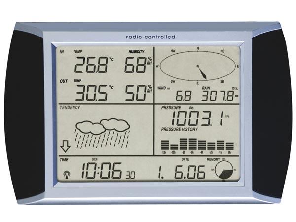 タッチパネル天候計測器1080