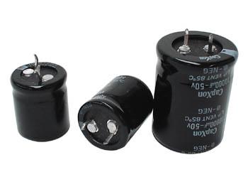 スナップイン電解コンデンサー10.000uF 超定番 いつでも送料無料 50V
