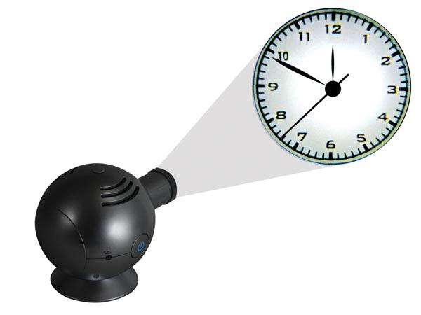 Analog projector clock