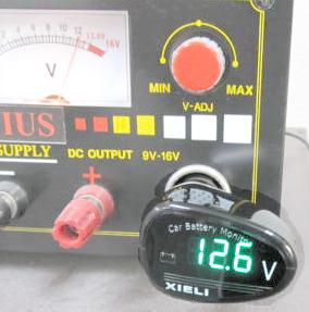 Digital automotive battery monitor