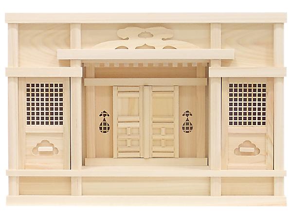 【神棚】東型箱宮尺5寸(ひのき)
