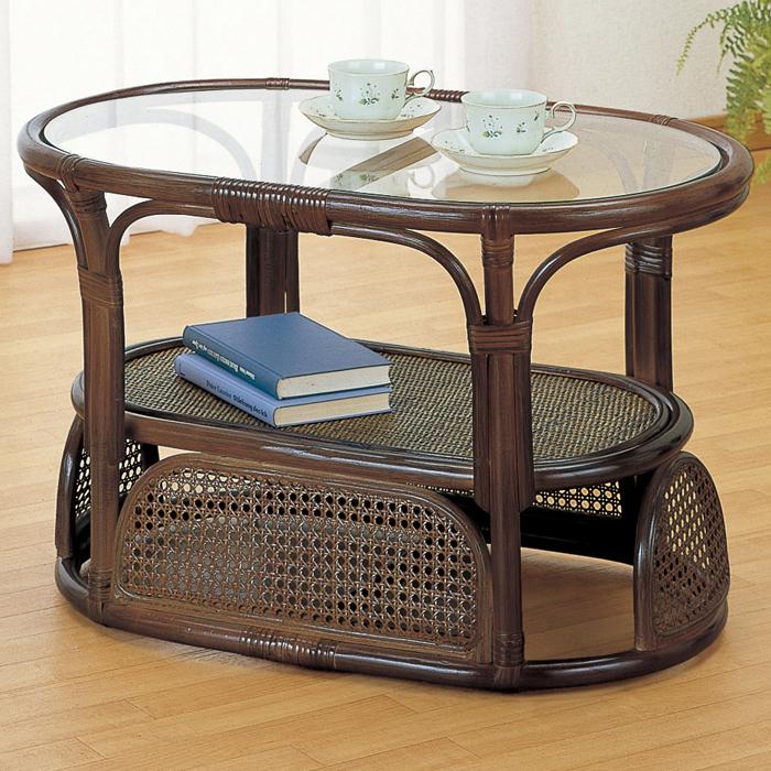 今枝商店 Romantic Rattan テーブル T470B