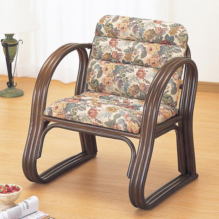 今枝商店 Romantic Rattan 思いやり座椅子 S215B