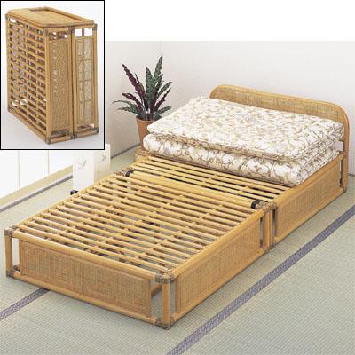 今枝商店 Romantic Rattan ベッド Y915