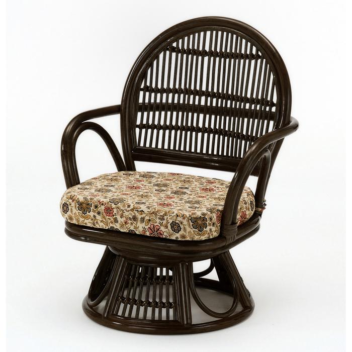今枝商店 Romantic Rattan 籐回転座椅子 S882B