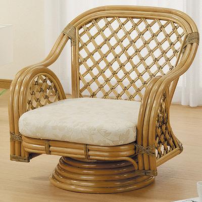 今枝商店 Romantic Rattan 籐回転座椅子 Y150