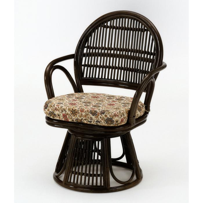 今枝商店 Romantic Rattan 籐回転座椅子 S883B
