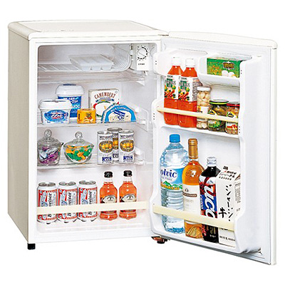 パナソニック (75L)パーソナルノンフロン冷蔵庫(直冷式) NR-A80W