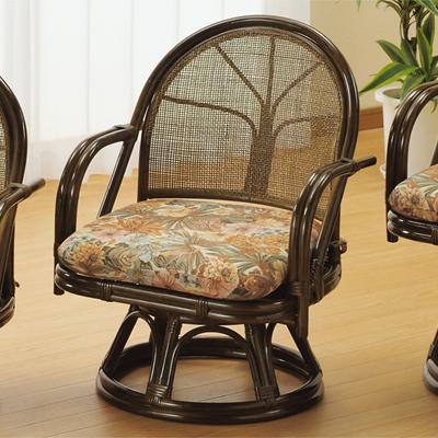 今枝商店 Romantic Rattan 回転座椅子 S303B
