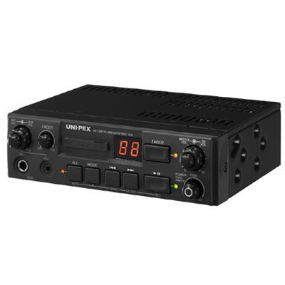 【送料無料】車載アンプ10W12V仕様(SDレコーダー付) (NDS10212S1) UNI-PEX 車載アンプ10W12V仕様(SDレコーダー付) NDS-102-12S1