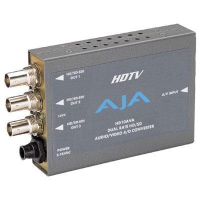 AJA Video Systems HD/SD A/D コンバータ HD10AVA