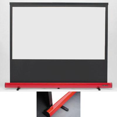 キクチ 16:9ワイド画面100インチスクリーン「Stylist Limited」 (SD100HDPG)(赤) SD-100HDPG/R【納期目安:2週間】