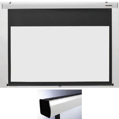 キクチ 16:9ワイドスプリングローラータイプ80インチスクリーン「Stylist SR」 (SS80HDPG)(白) SS-80HDPG/W【納期目安:2週間】
