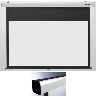 キクチ 16:9ワイドスプリングローラータイプ120インチスクリーン「Stylist SRシリーズ HD ホワイトマットアドバンス 」 (SS120HDWA)(ホワイト) SS-120HDWA/W【納期目安:2週間】