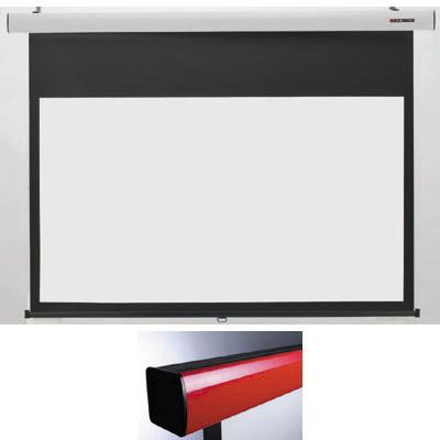 キクチ 16:9ワイドスプリングローラータイプ80インチスクリーン「Stylist SR」 (SS80HDWA)(赤) SS-80HDWA/R【納期目安:2週間】