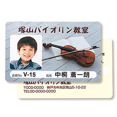 サンワサプライ インクジェット用IDカード(穴なし)200シート入り JP-ID03-200