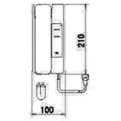 アイホン [アイホン]テレビドアホン2・3モニターなし増設親機 MK-2SD
