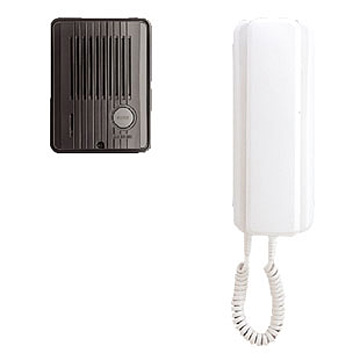 アイホン [アイホン]AC電源直結式ドアホンセット(TC-DEとT-M-T) TCS-1A-T
