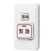 アイホン [アイホン]VHX・SCX緊急呼出ボタン・通報取消スイッチ付 SCW-B2W