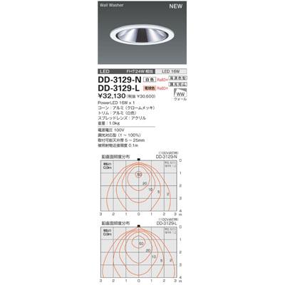 山田照明 ダウンライト(ユニコーン) DD-3129-L