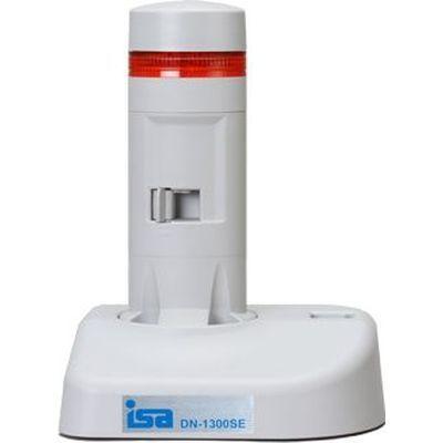 アイエスエイ 警子ちゃん3G USB警告灯(1層1色 赤 LED灯/ライトグレー/LED色付レンズ) (DN1300SE1RCW) DN-1300SE-1RCW