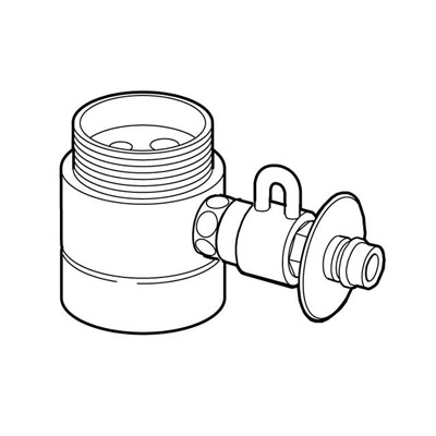 その他 食器洗い乾燥機用分岐水栓 CB-SYC6【メーカー注文品】