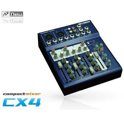 NEU ヌー コンパクト4チャンネルミキサー CX4