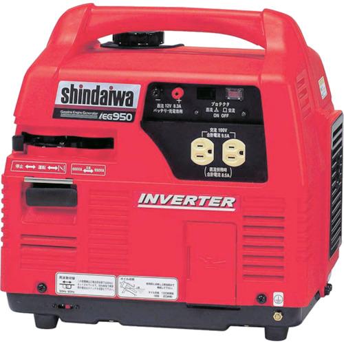 激安通販の IEG950:爆安!家電のでん太郎 新ダイワ インバータ発電機 0.95kVA やまびこ-DIY・工具