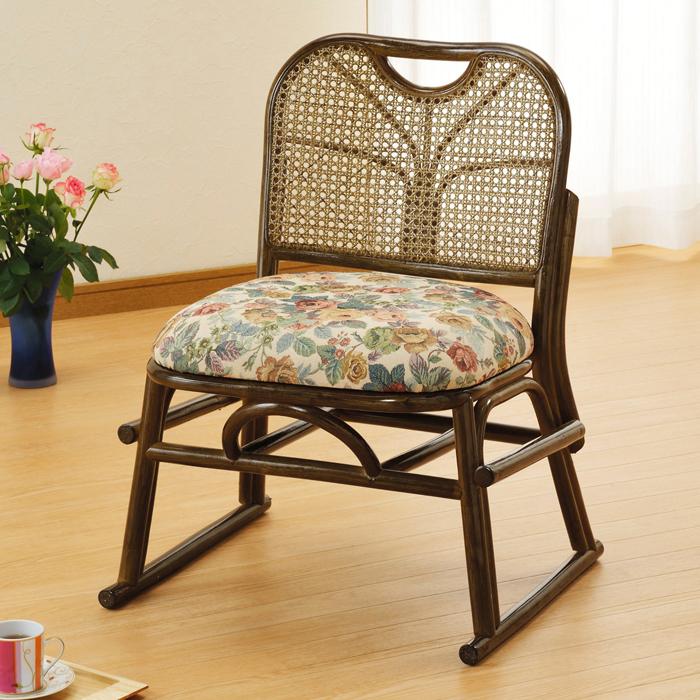 今枝商店 Romantic Rattan スタッキング座椅子 S141B