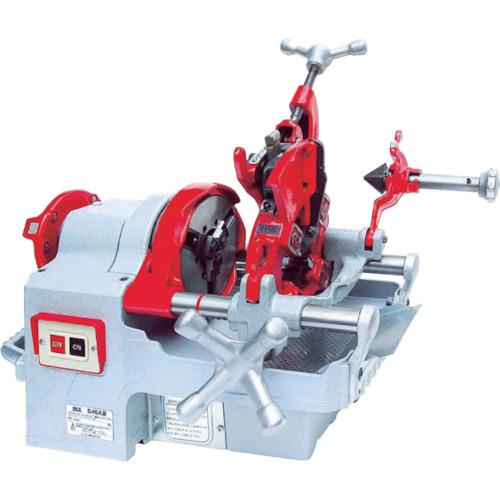 【国内発送】 REX 手動切上ダイヘッド付パイプマシン S40A レッキス工業 S40A:爆安!家電のでん太郎-ガーデニング・農業