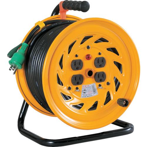 日動工業 日動 電工ドラム 標準型100Vドラム アース付 30m NF-E34