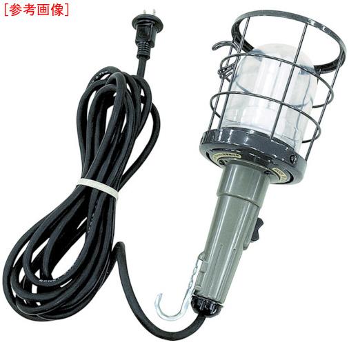 ハタヤリミテッド ハタヤ 防雨型蛍光灯ハンドランプ 単相100V 21W 電線10m付 CWF-10H