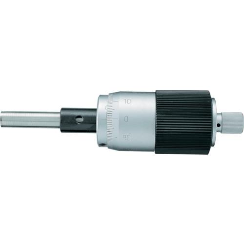 新潟精機 SK マイクロメータヘッド 測定範囲0~25mm ストレート  1004-030
