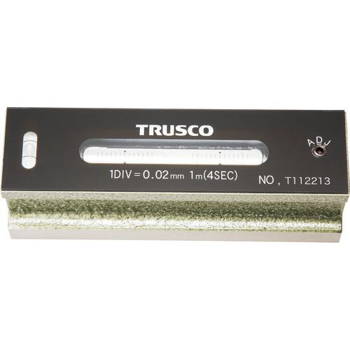 トラスコ中山 TRUSCO 平形精密水準器 B級 寸法150 感度0.02 TFL-B1502