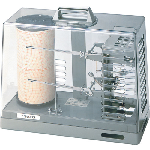 佐藤計量器製作所 佐藤 シグマ2型温湿度記録計 7210-00