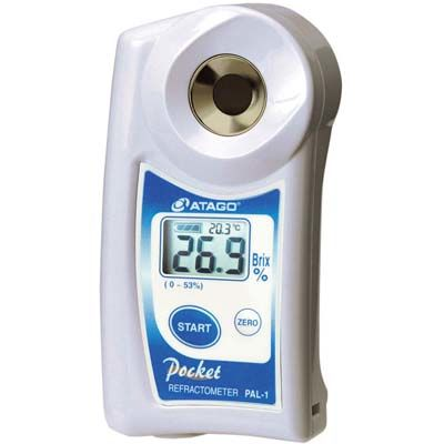 アタゴ デジタル ポケット糖度計 低・中濃度モデル PAL-1 EBM-1618800