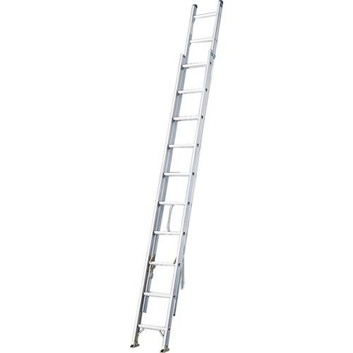 長谷川工業 ハセガワ アルミ2連はしご 軽量タイプ HE2型 5.84m HE2-61