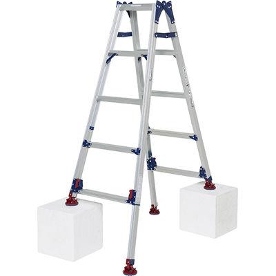 ピカコーポレイション ピカ 四脚アジャスト式脚立かるノビSCL型 自在脚タイプ4~5尺 SCL-J150A