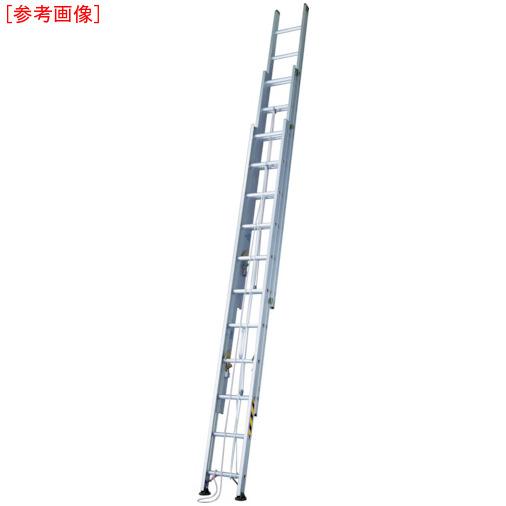 長谷川工業 ハセガワ アップスライダー業務用3連梯子 LA3-100
