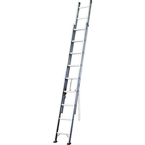 長谷川工業 ハセガワ アルミ2連はしご 軽量タイプ HE2型 5.17m HE2-51