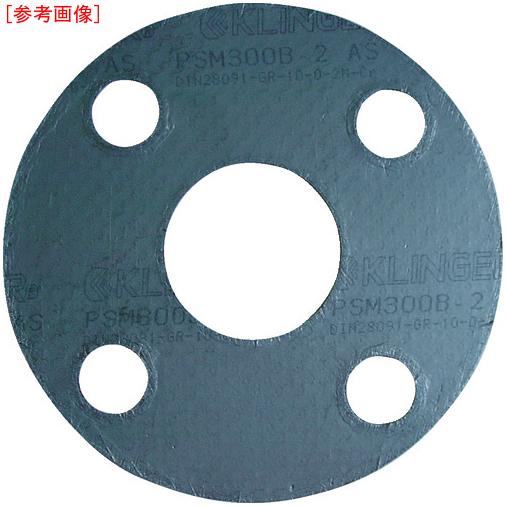 亜木津工業 クリンガー 膨張黒鉛ガスケット(ステンレス爪付鋼板入り) 5枚入り PSM-10K-100A