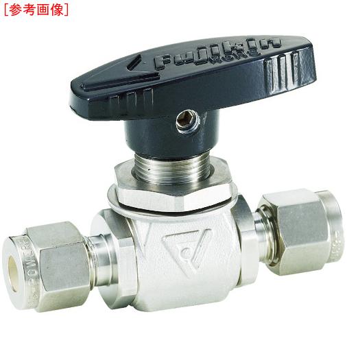 フジキン フジキン ステンレス鋼製4.90MPaパネルマウント式ボール弁 PUBV-95-12.7